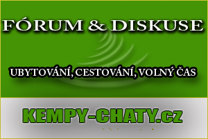 Fórum, diskuse na Kempy-chaty.cz